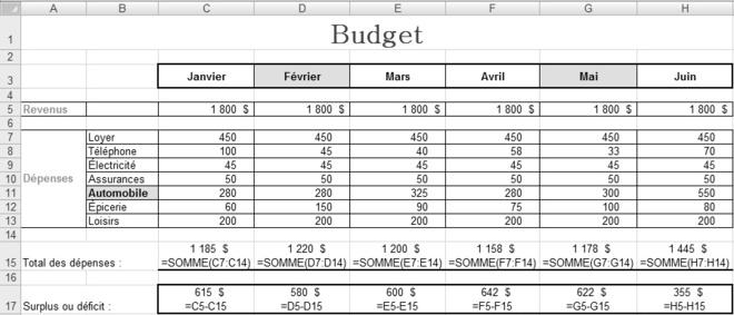 PDF Exercices Excel en pdf avec correction   Cours Excel