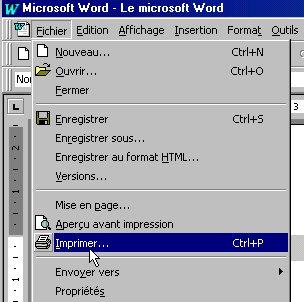 PDF Cours Bureautique de Ms Word pour débutant | Formation informatique