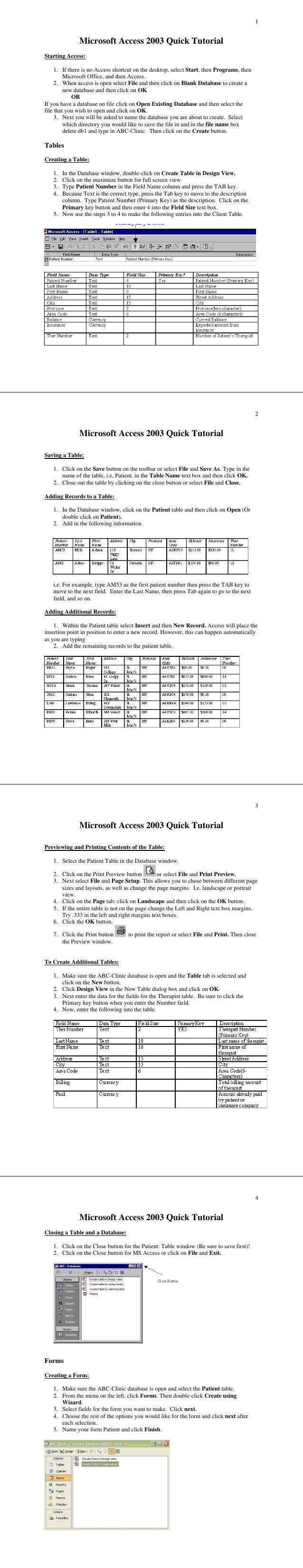 PDF] Base de Donnée MS Access 2003 en pdf | Télécharger PDF