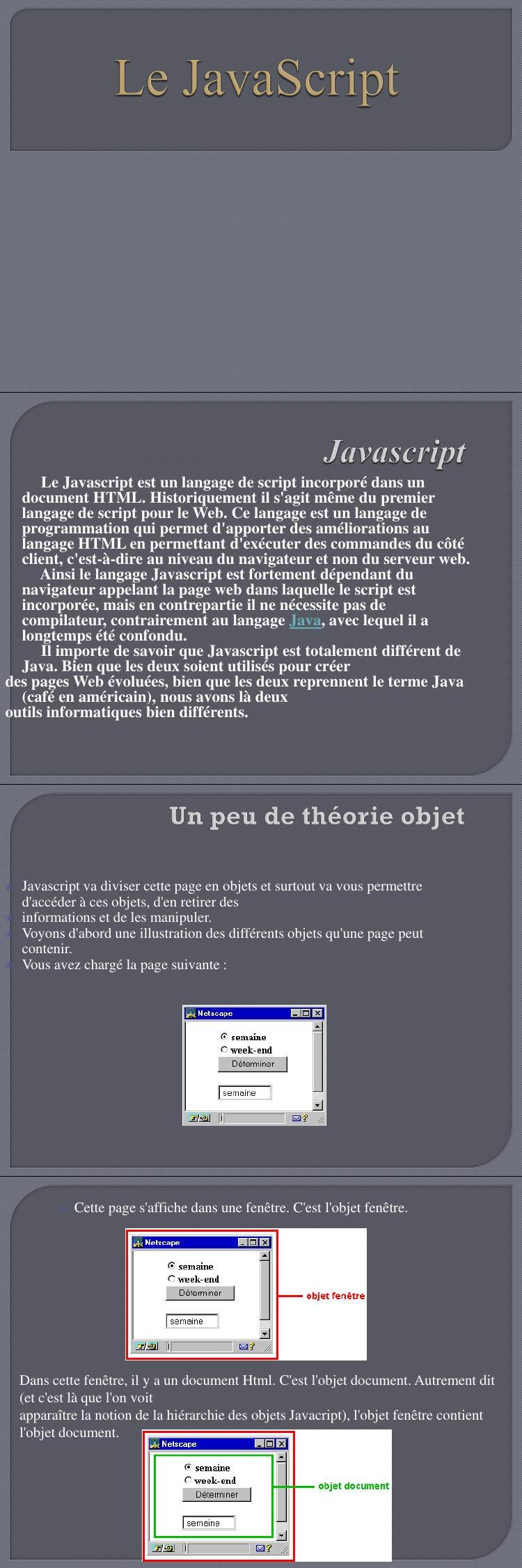 Pdf Cours Et Exercices Javascript Pdf