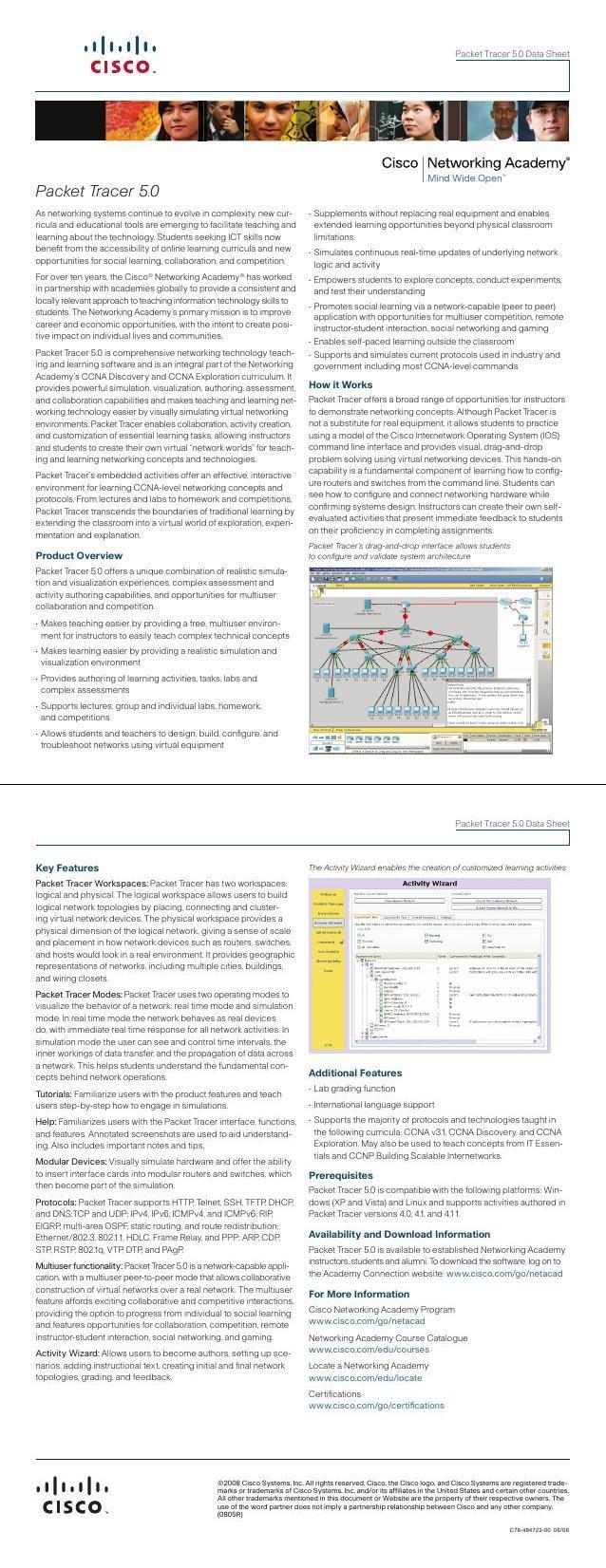 PDF] Cours Packet Tracer 5 0 en PDF   Cours informatique