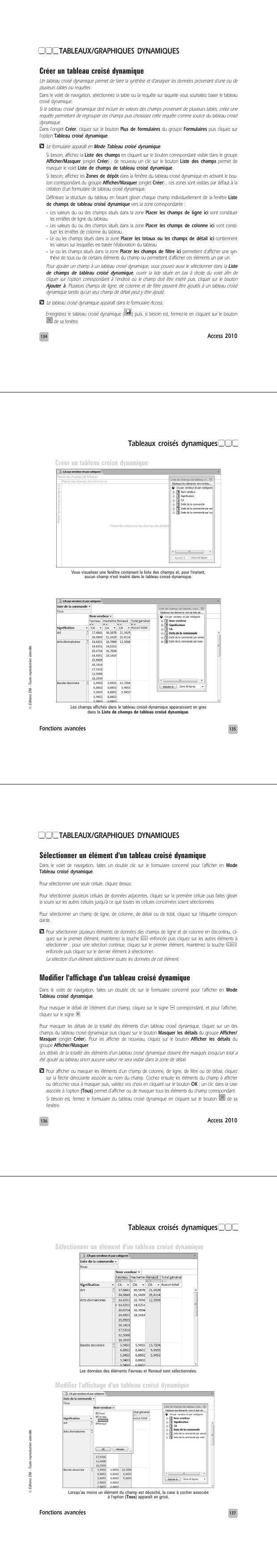 Pdf Apprendre A Utiliser Les Tableaux Croises Dynamiques Pdf Cours Excel