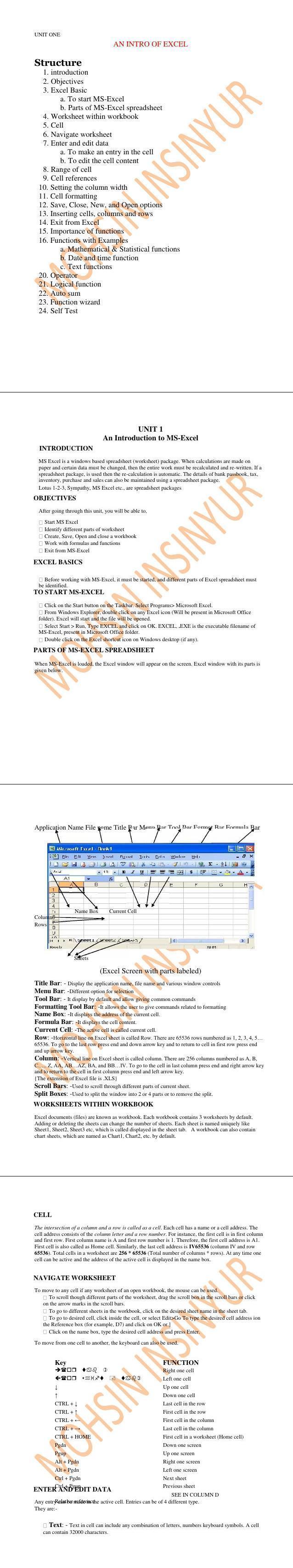 PDF] EXCEL tutorial inventory spreadsheet - Free PDF Download