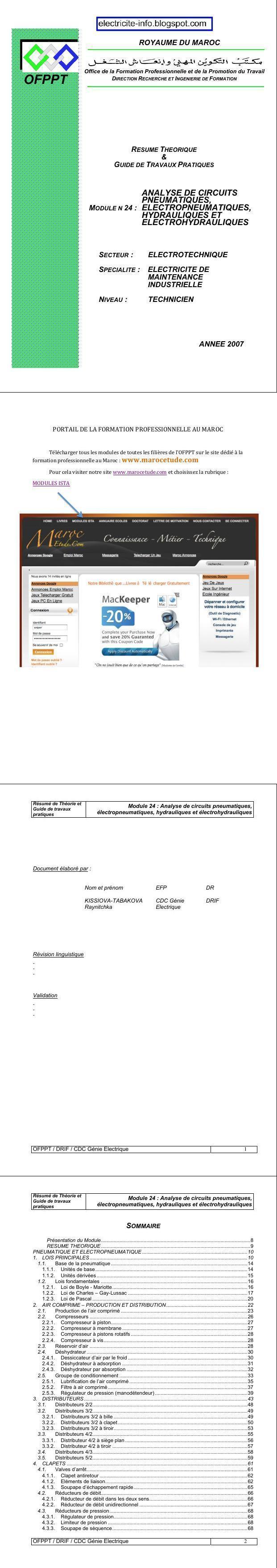 GRATUITEMENT TÉLÉCHARGER MODULE PDF OFPPT TEMI