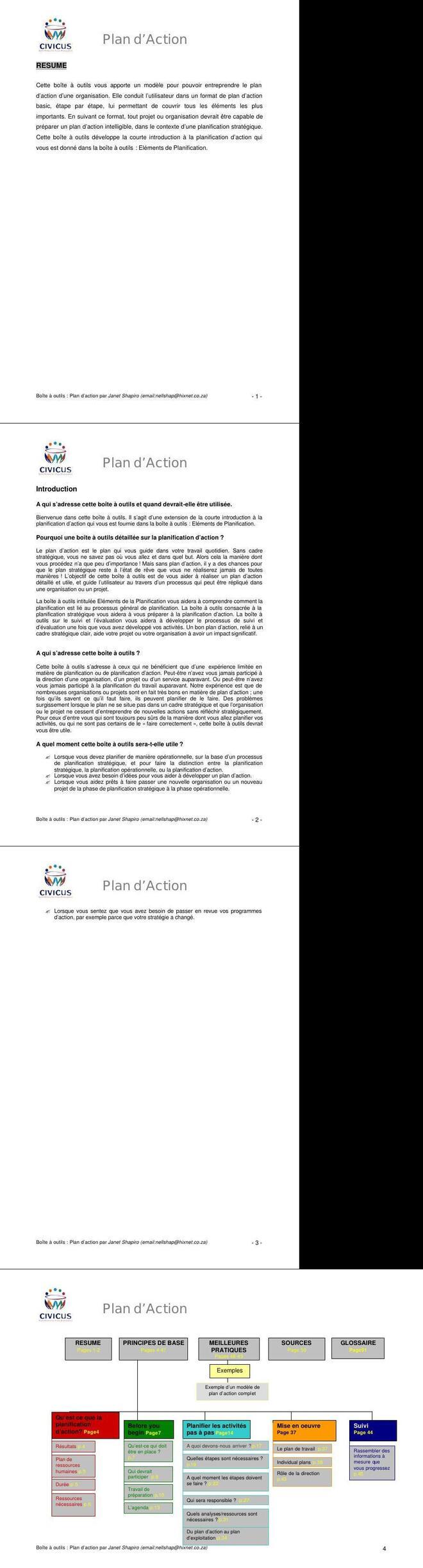 Pdf Formation Sur La Planification Des Plans D Action Commerciale Cours Commerce