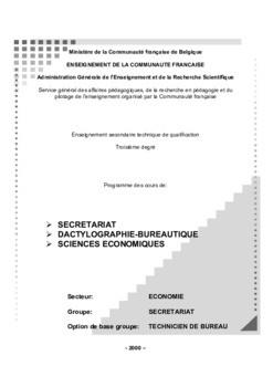 Pdf Guide Programme Bureautique Informatique Pdf Cours Bureautique