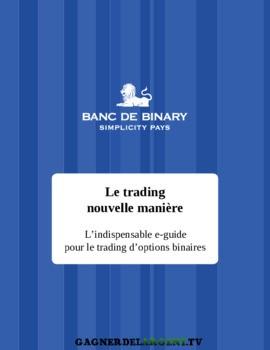 opțiunea binară de strategie pdf)