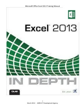 MS EXCEL course Training with examples