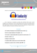 Enregistrement du son provenant d'internet avec Audacity
