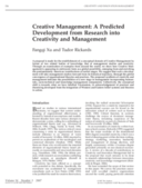 Cours d'introduction au management de la creativite [Eng]